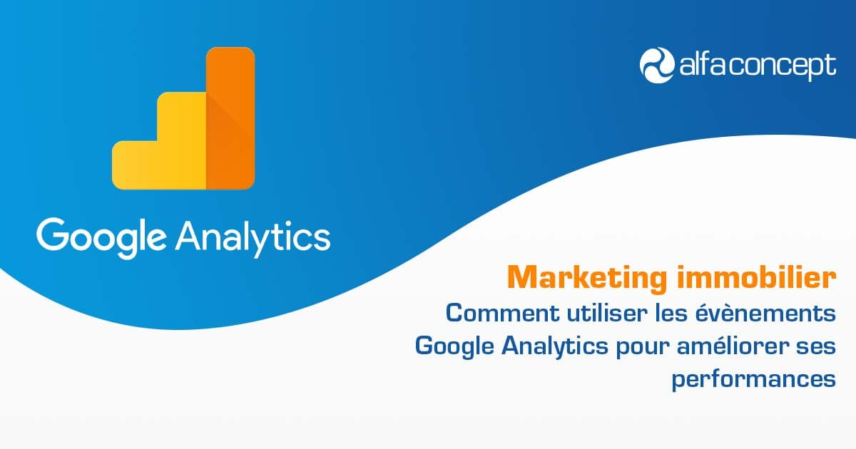 Evenements Google Analytics