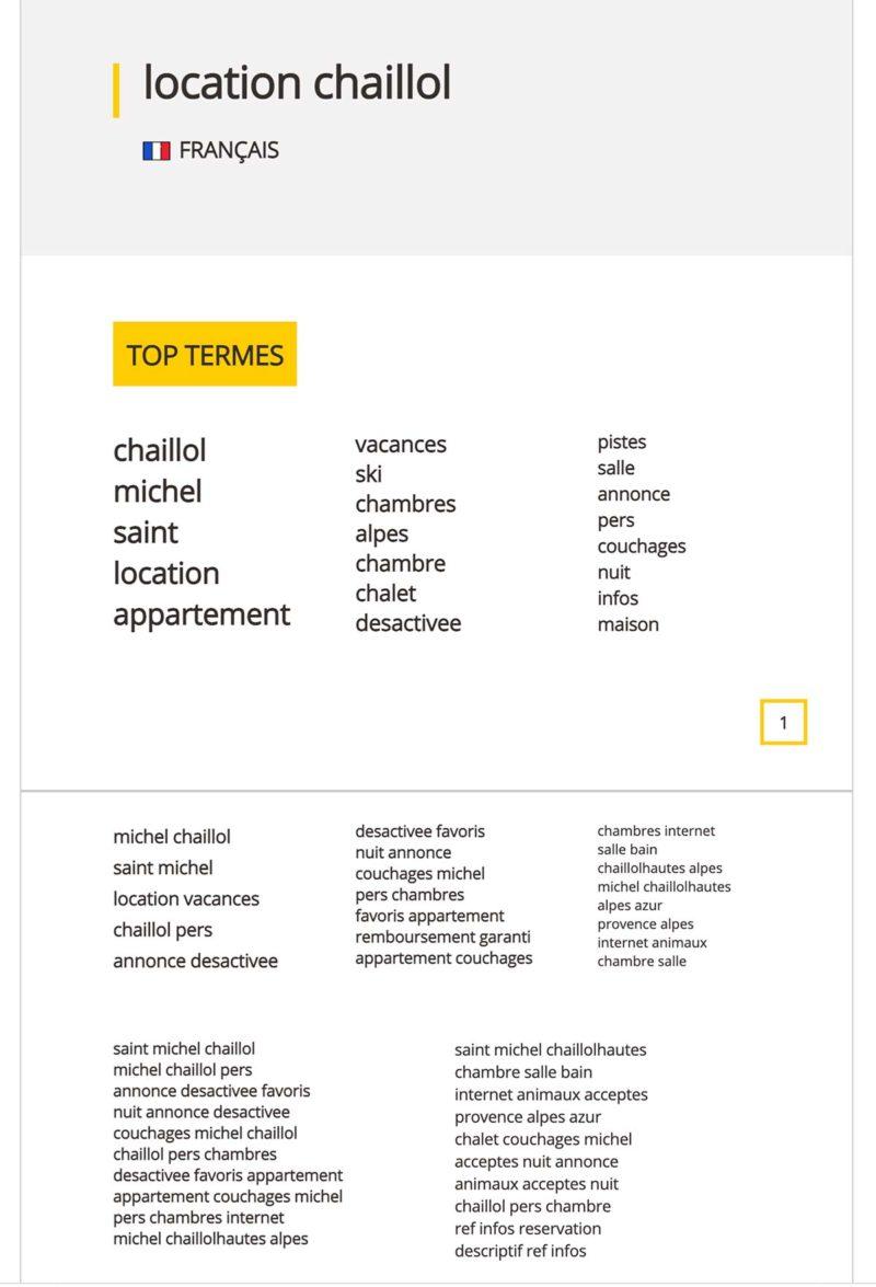 referencement semantique google